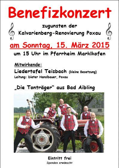 Konzert Poster